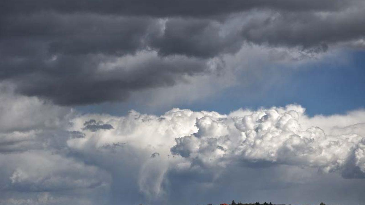 Wallpaper the sky, mountains, rain, obloka images for desktop ... | 720x1280